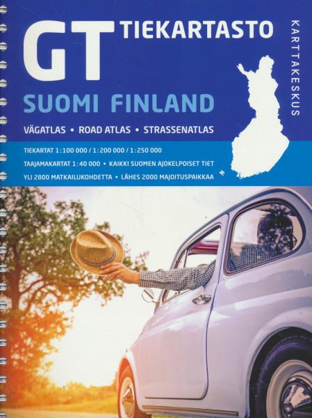 GT Tiekartasto Suomi, Road Atlas Finland,