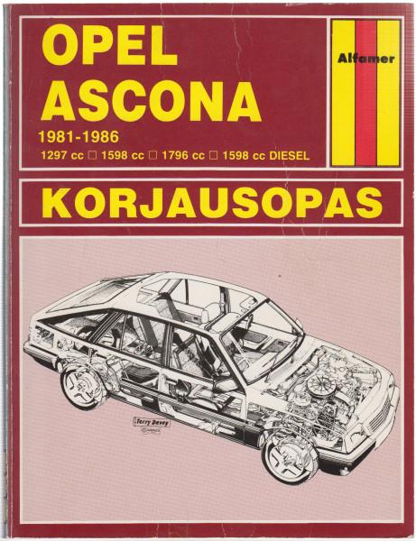 Opel Ascona : 1981 - syksy 1986, Peter G. Strasman