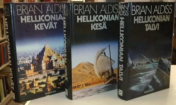 Helliconia 1-3 (Helliconian kevät, Helliconian kesä, Helliconian talvi), Brian Aldiss