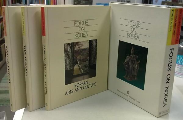 Focus on Korea 1-3 (This Is Korea, Korean History, Korean Arts and Culture),