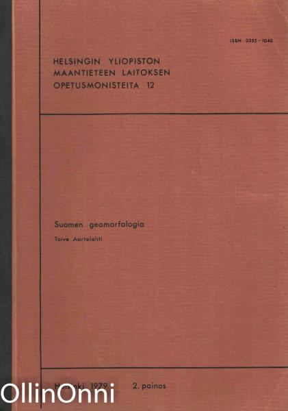 Suomen geomorfologia, Toive Aartolahti
