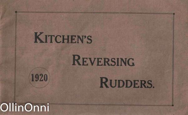 The Kitchen's Reversing Rudders, Gordon H. Fraser