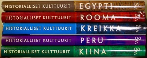 Historialliset kulttuurit - Egypti. Rooma. Kiina. Kreikka. Peru., Kirsti Kujanen
