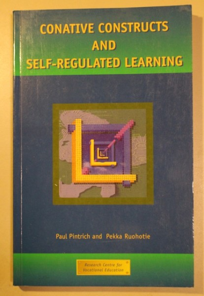 Conative Constructs and Self-Regulated Learning, Paul Pintrich