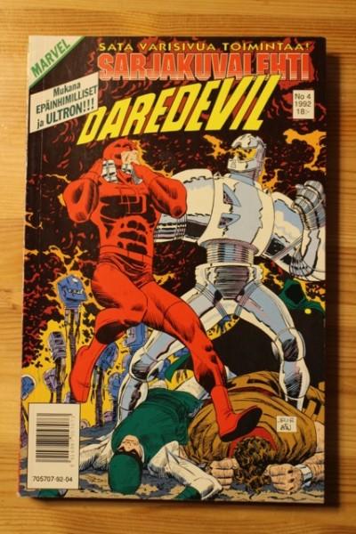 Sarjakuvalehti 1992-04 Daredevil - Marvel,