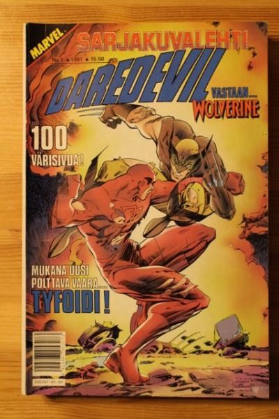 Sarjakuvalehti 1991-01 Daredevil - Marvel,