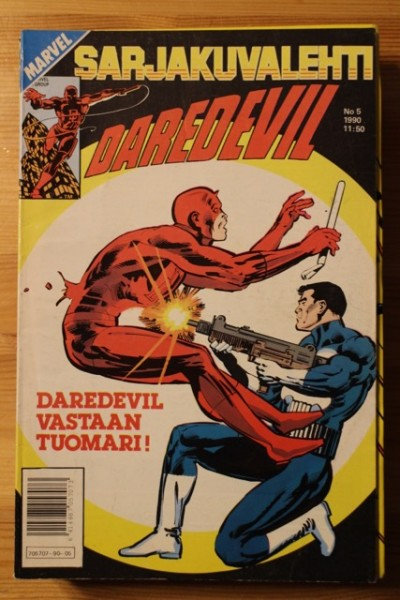 Sarjakuvalehti 1990-05 Daredevil - Marvel,