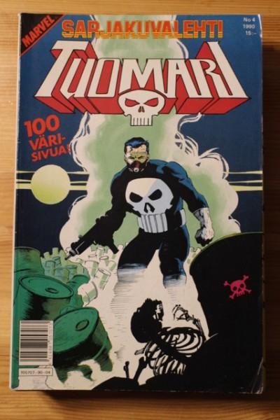 Sarjakuvalehti 1990-04 Tuomari - Marvel,