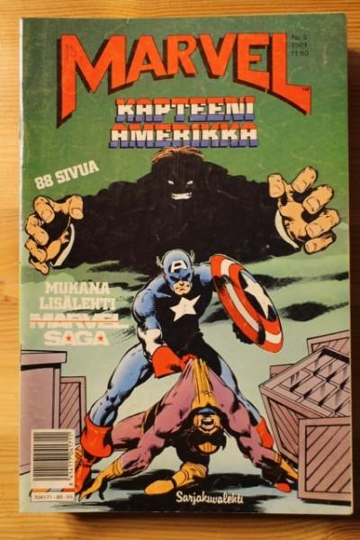 Marvel 1989-05 Kapteeni Amerikka,