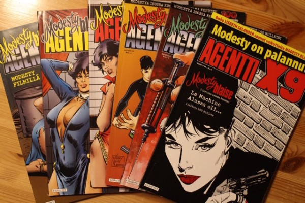 Agentti X9 1-6 (2010) Modesty Blaise,
