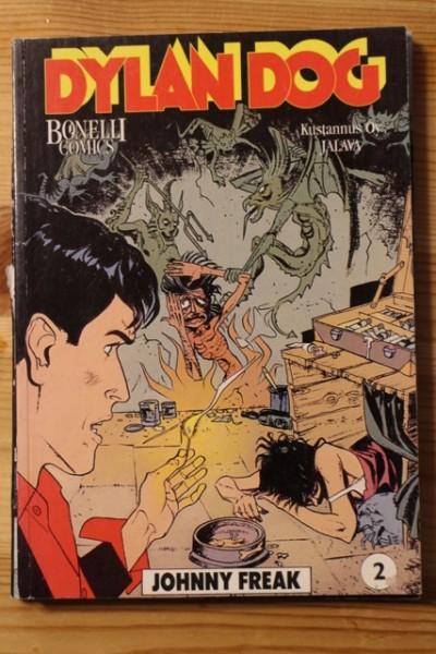 Dylan Dog 2 Johnny Freak (Bonelli Comics), Tiziano Sclavi