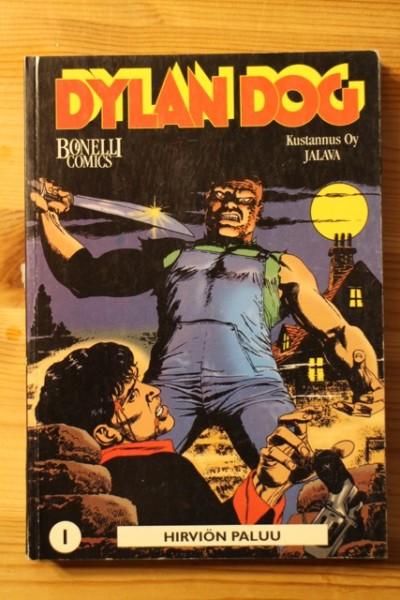 Dylan Dog 1 Hirviön paluu (Bonelli Comics), Tiziano Sclavi