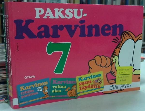 Paksu-Karvinen 7 (Karvinen tyhjän panttina, Karvinen valtaa alaa, Karvinen suun täydeltä), Jim Davis