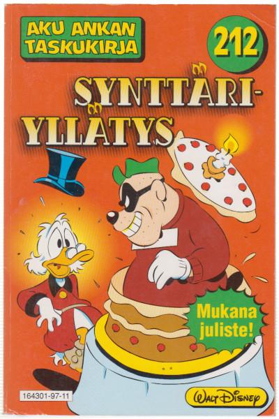 Synttäriyllätys, Walt Disney