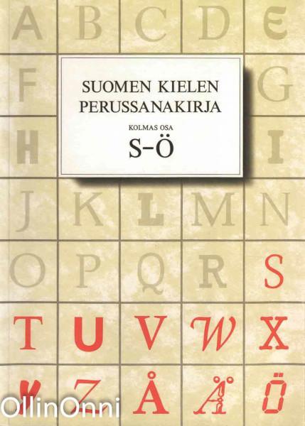 Suomen kielen perussanakirja 1-3, Risto Haarala
