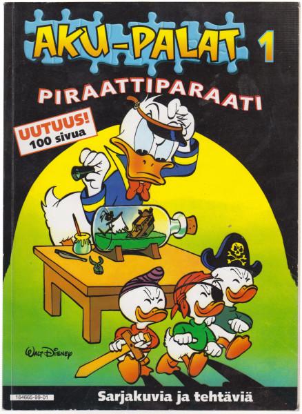 Piraattiparaati : sarjakuvia ja tehtäviä, Walt Disney