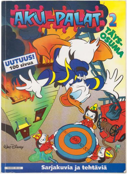 Täysosuma : sarjakuvia ja tehtäviä, Walt Disney