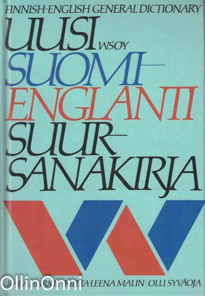 Uusi suomi-englanti suursanakirja = Finnish-English general dictionary, Raija Hurme
