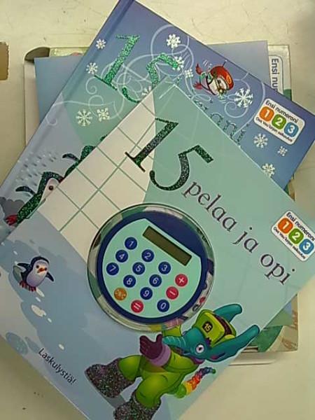 Ensi numeroni 123 - 15 kirjani JA 15 pelaa ja opi,