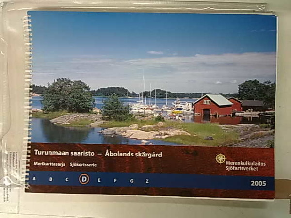 Turunmaan saaristo Merikarttasarja D 2005 - Åbolands skärgård Sjökortsserie D 2005,