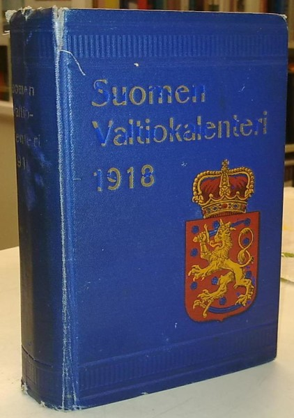 Suomen Valtiokalenteri 1918,