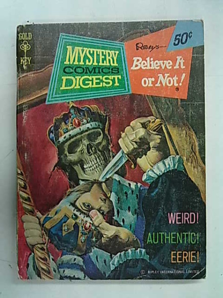 Gold Key - Mystery Comics Digest Number 16 - Ripley´s Believe It or Not!,