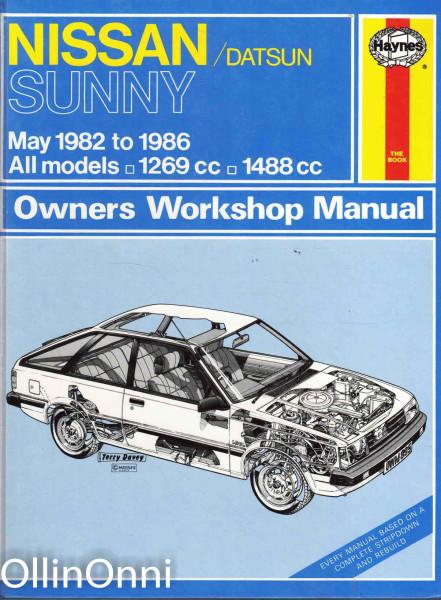 Nissan/Datsun Sunny May 1982 to 1986, Peter G. Strasman
