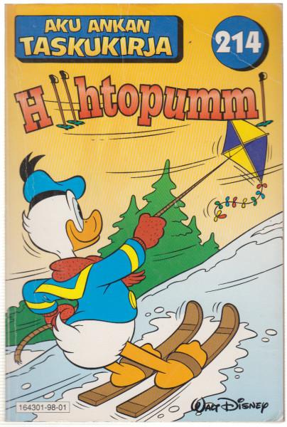 Aku Ankan taskukirja 214 Hiihtopummi, Walt Disney