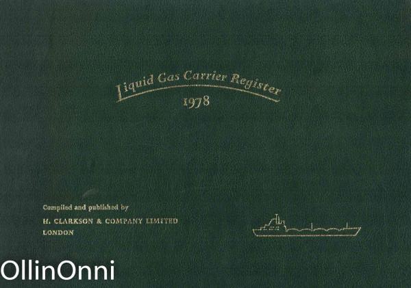 Liquid Gas Carrier Register 1978, Ei tiedossa