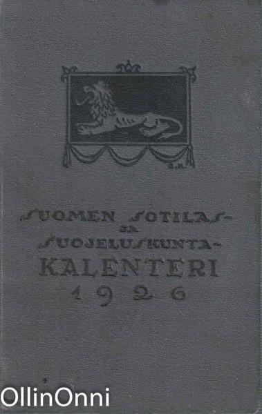 Suomen Sotilas- ja Suojeluskuntakalenteri 1926, Reino E. Rimala