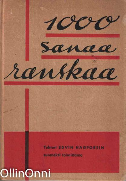 1000 sanaa ranskaa, Edwin Hagfors
