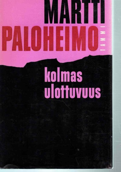 Kolmas ulottuvuus - Pakinoita ja kirjoitelmia, Martti Paloheimo