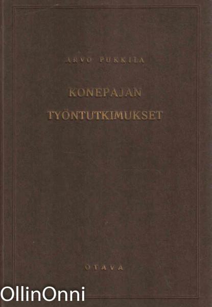Konepajan työntytkimukset, Arvo Pukkila