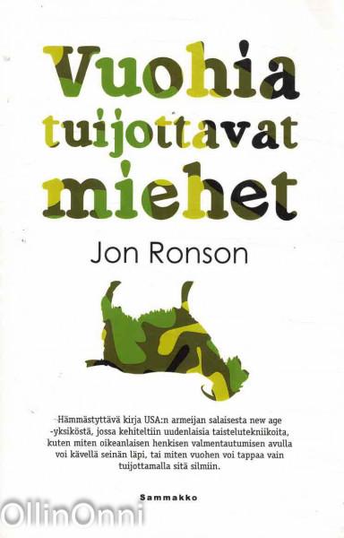 Vuohia tuijottavat miehet, Jon Ronson