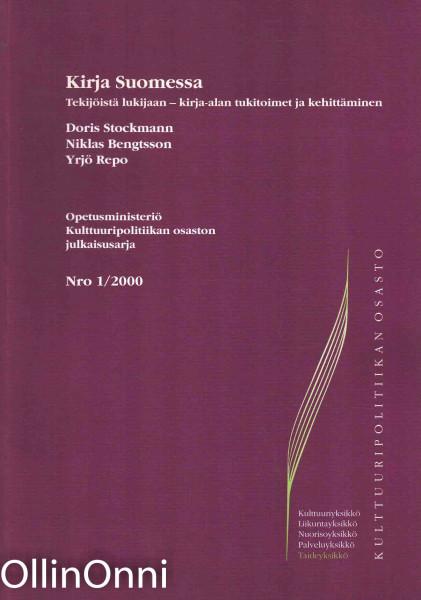 Kirja Suomessa Nro 1/2000 - Tekijöistä lukijaan - kirja-alan tukitoimet ja kehittäminen, Doris Stockmann