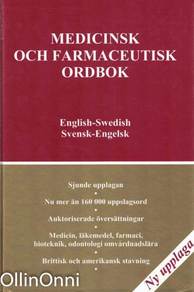 Medicinsk och farmaceutisk ordbok - Svensk-Engelsk, Ei tiedossa