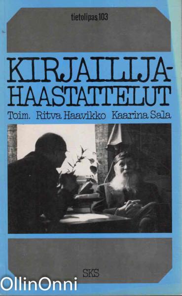 Kirjailijahaastattelut, Ritva Haavikko