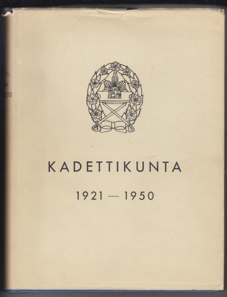 Kadettikunta jäsenet 1921-1950,