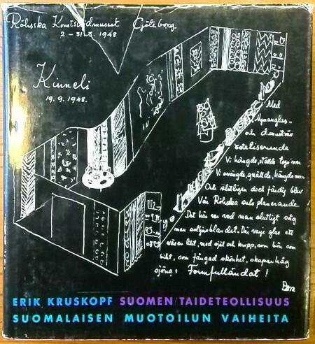 Suomen taideteollisuus : suomalaisen muotoilun vaiheita, Erik Kruskopf