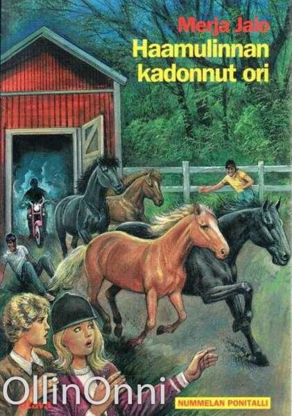 Haamulinnan kadonnut ori (nummelan ponitalli), Merja Jalo